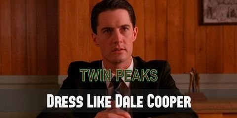 As an FBI agent, Dale Cooper doesn't just own the badge, but also the look. The costume designer couldn't make his outfit looks more FBI even if they wanted to