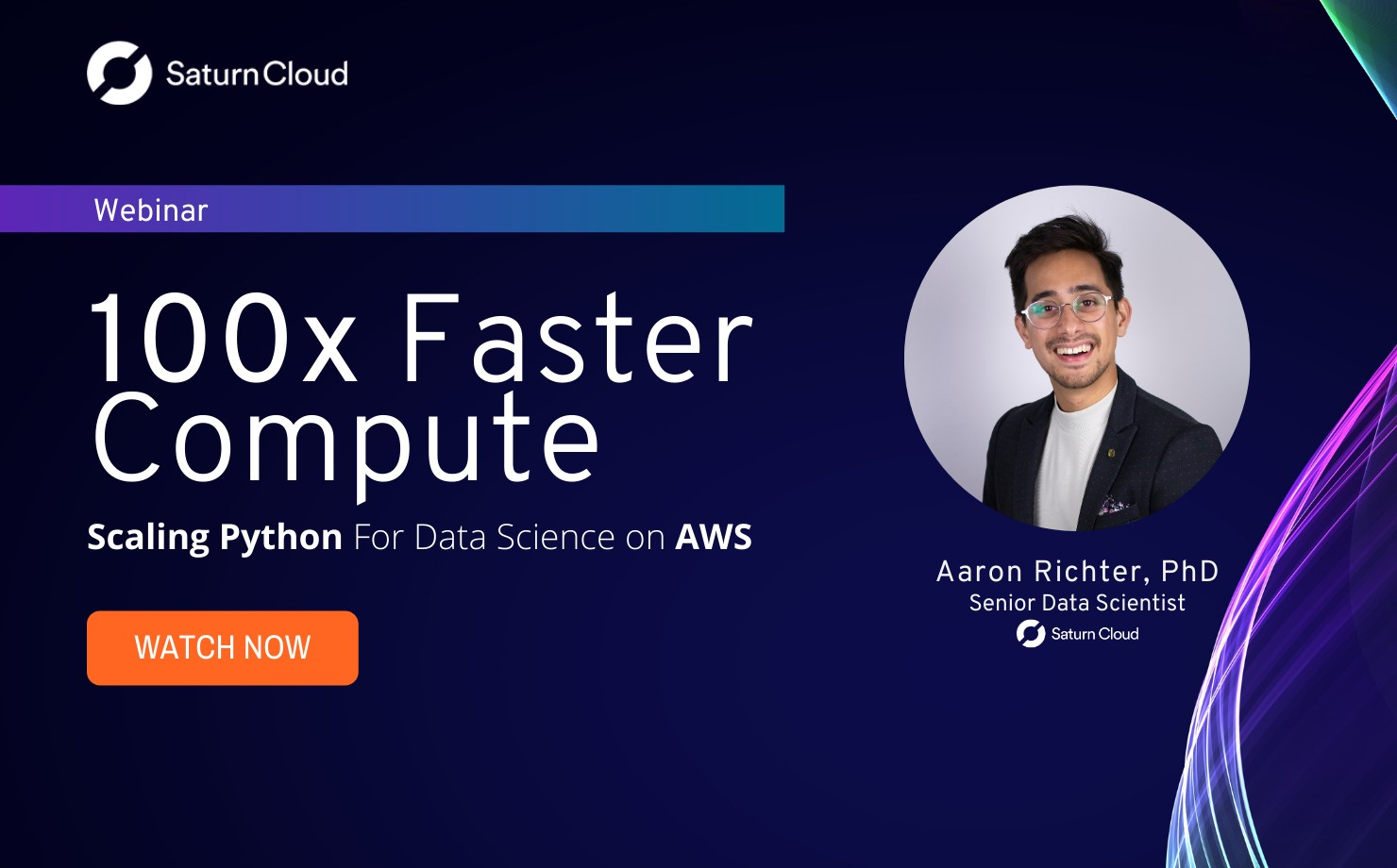 Featured Image for 100x Faster Compute: Scaling Python For Data Science on AWS