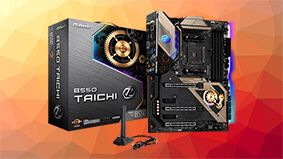 $300 for The ASRock B550 Tiachi motherboard with chutzpah