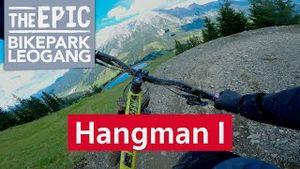 Hangman 1 | Freeride Trail im Bikepark Leogang/Saalfeden