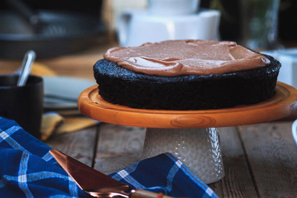Chocolate Olive Oil Cake