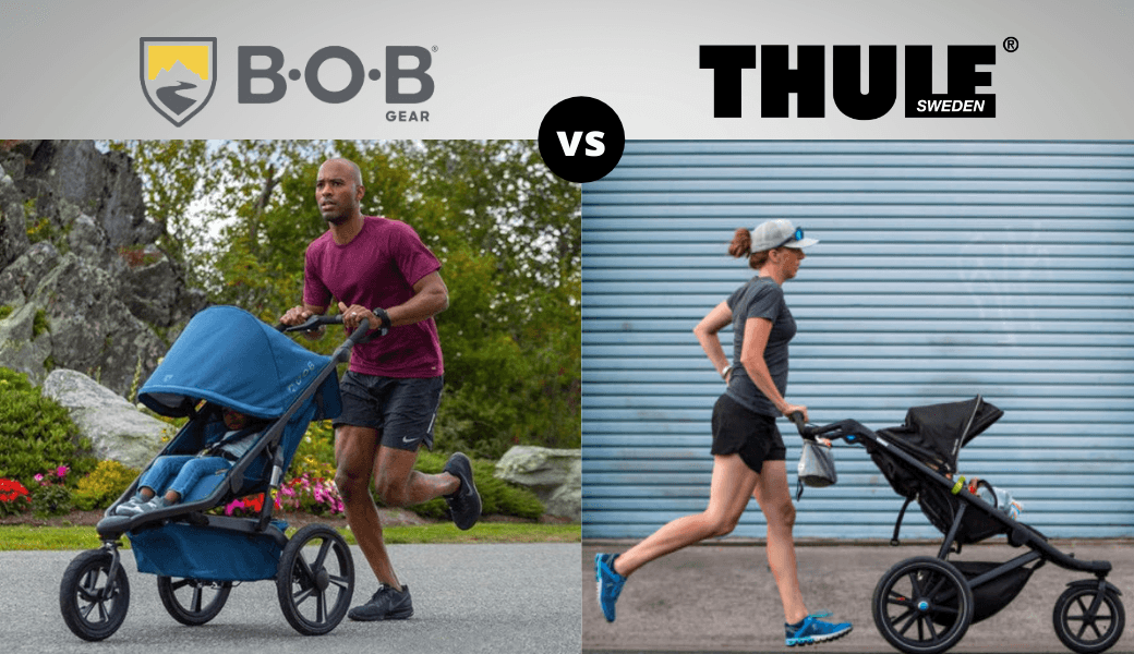 Bob vs. Thule:, Best Jogging Strollers Reviewed, (2021 Review) cover image