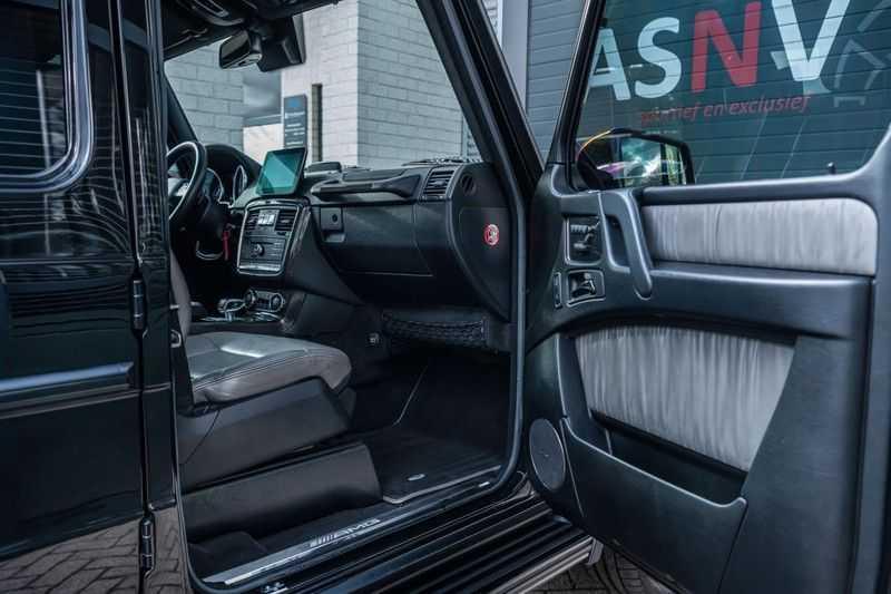 Mercedes-Benz G-Klasse 63 AMG, 571 PK, Full/Black Optiek, Schuif/-Kanteldak, TV, Harman/Kardon, Designo leder, Distronic, 57DKM!!! afbeelding 3