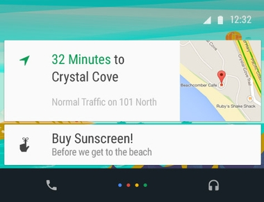 Enable the new Android Auto UI