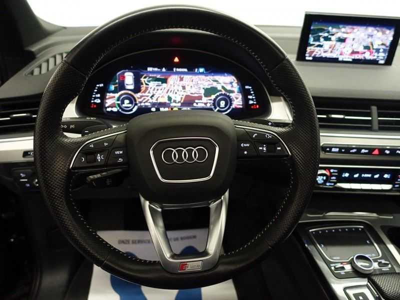 Audi Q7 3.0 TDI e-tron 374pk Quattro S-Line - Pano, Virtual Cockpit, Camera, Leer, Full! afbeelding 10