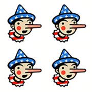 4 Pinocchios