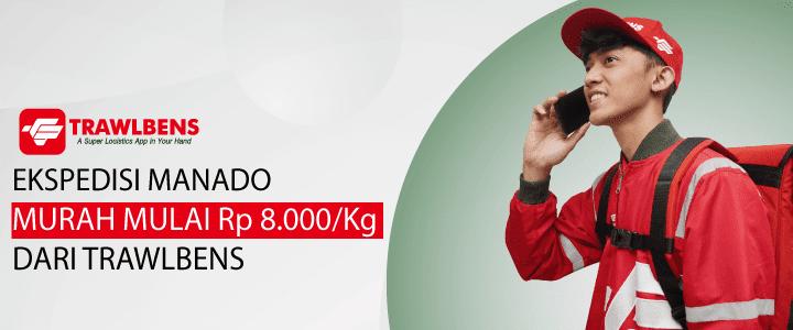 Jasa Cargo dan Ekspedisi Manado Mulai dari Rp.8.000/Kg
