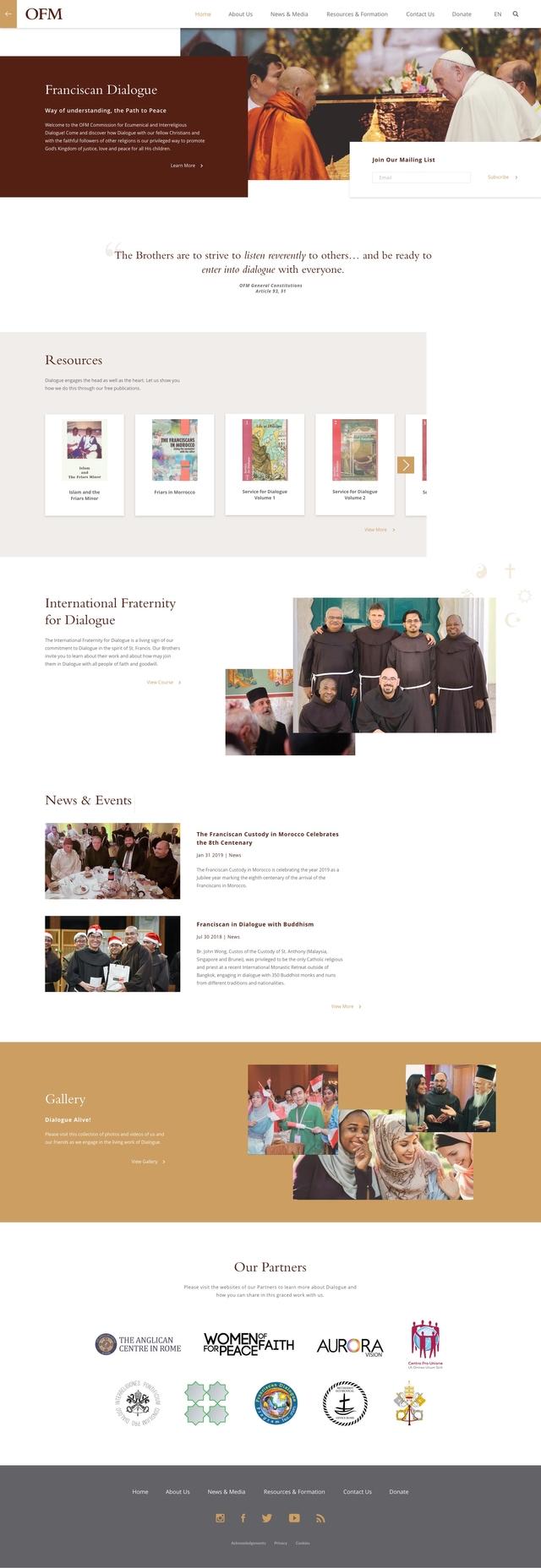 OFM – Interfaith Dialogue