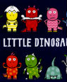 Ten little dinosaurs by Mike Brownlow and Simon Rickerty