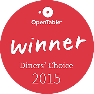 Diner's Choice Award 2015