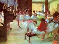 Degas, a difficult personality, is also famous for his works of jockeys and race courses