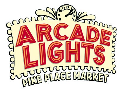 Arcade Lights Pike Place Market