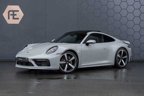 "Porsche 911 3.0 Carrera Sport Design Pack, ACC, Lifting, Pano, Sportuitlaat, Klimaatstoelen, 21"", PPF, SportChrono, Nightvision, BOSE Surrou"