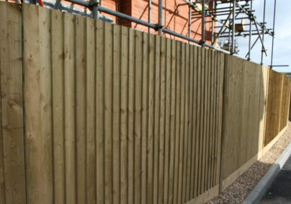 Closeboard Timber Fencing