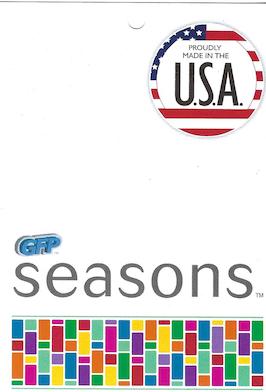 General Foam Plastics GFP Seasons Tag preview