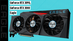 GeForce RTX 3090 And GeForce RTX 3080 Eagle Series Graphics Card Are Announced By Gigabyte