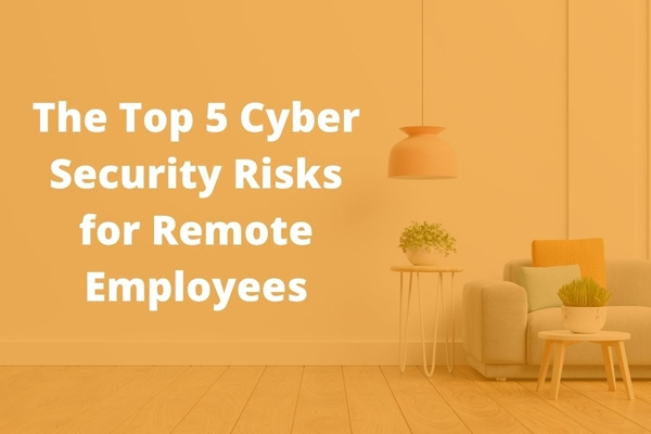 blog img: The Top 5 Cyber Security Risks for Remote Employees