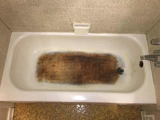 Bathtub 4 - Before