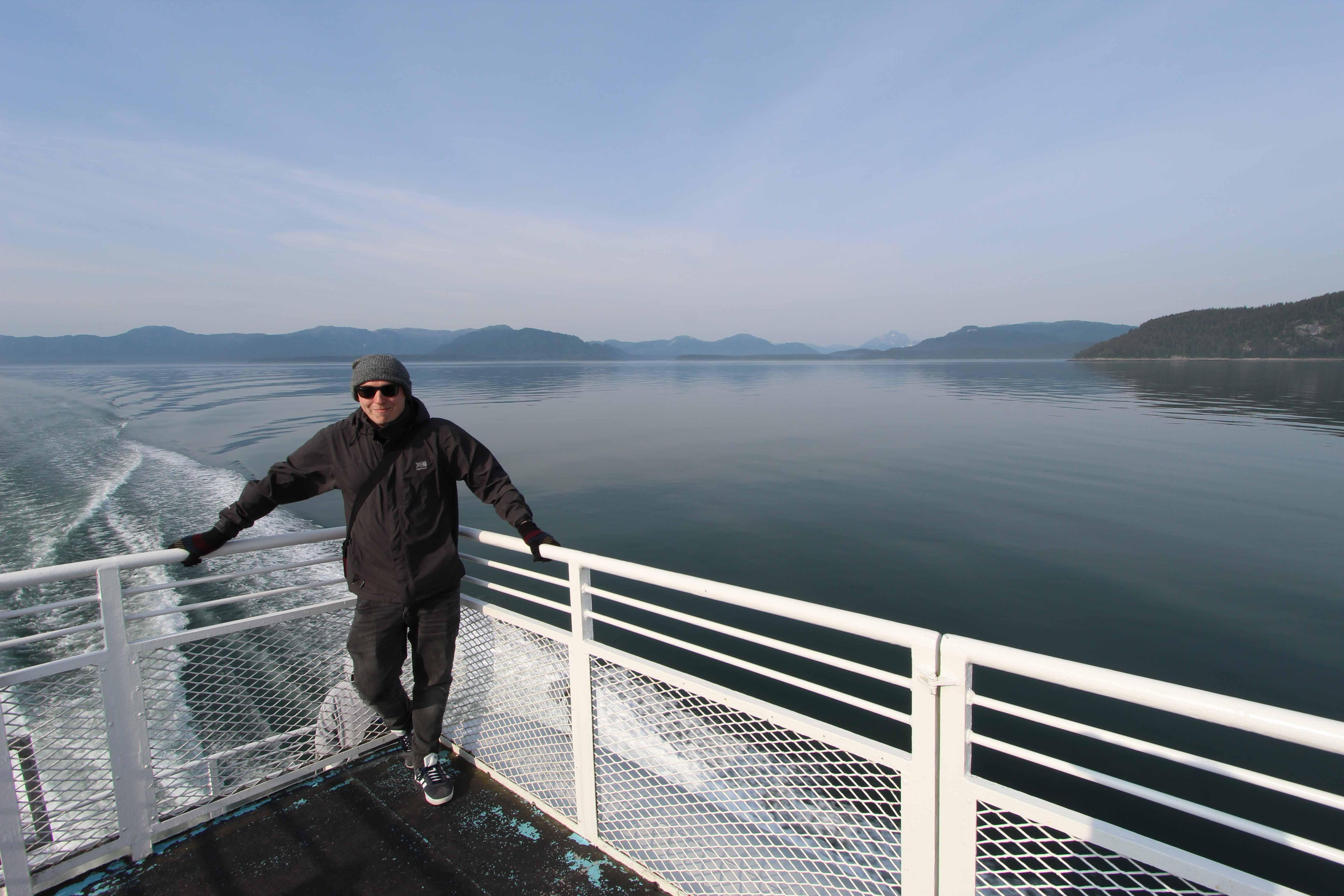 A picture of Joe in Alaska