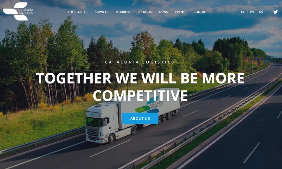 Catalonia Logistics Website