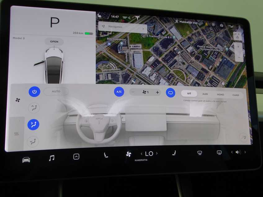 "Tesla Model 3 Long Range   prijs ex.btw 44.450,-   Wit Wit 19""LM% Bijtelling afbeelding 3"