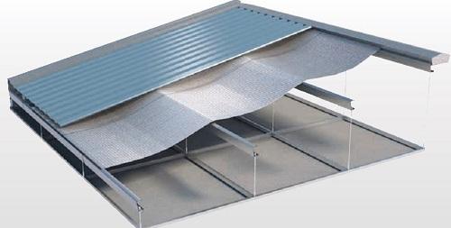 Penggunaan Peredam Panas Pada Atap Seng Baja Ringan
