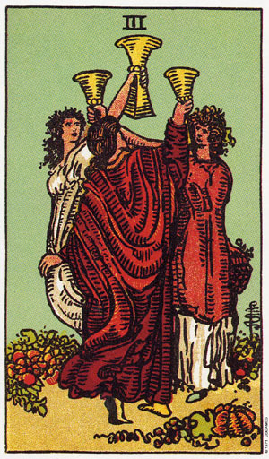 3 of Cups