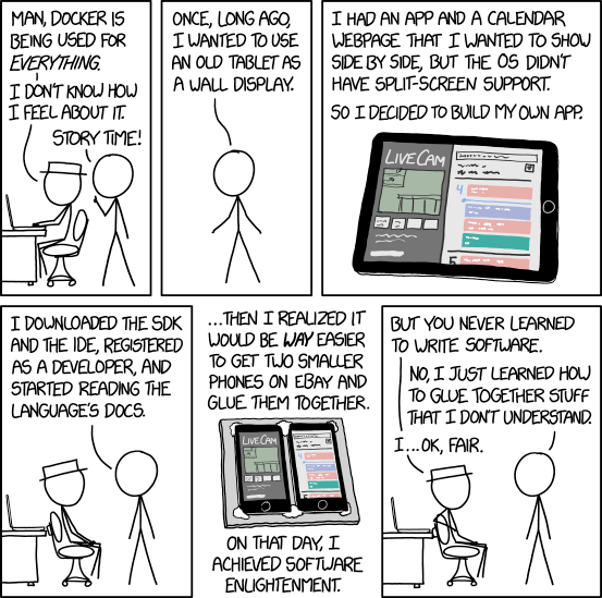 XKCD: Containers