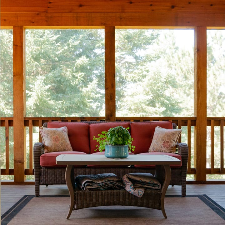 Wooded Porch