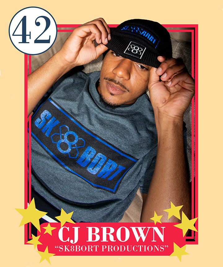 CJ Brown, 42