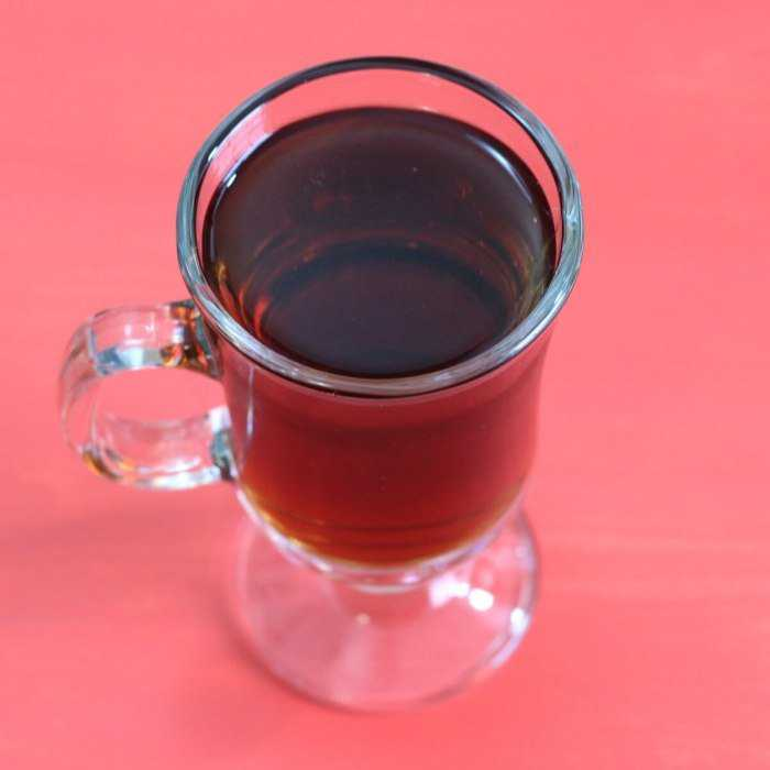Almond Chocolate Coffee Cocktail