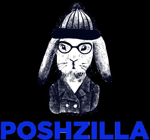 Poshzilla Logo