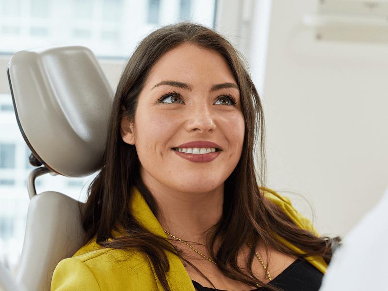 DrSmile Behandlungsablauf mit Zahnschiene