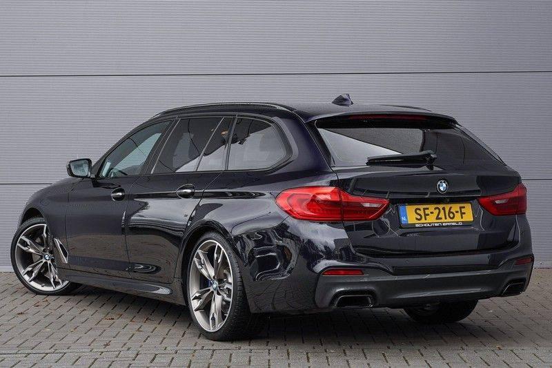 """BMW 5 Serie M550d X-Drive M-Pakket Shadow B&W Camera 360° Massage 20"""" afbeelding 9"""
