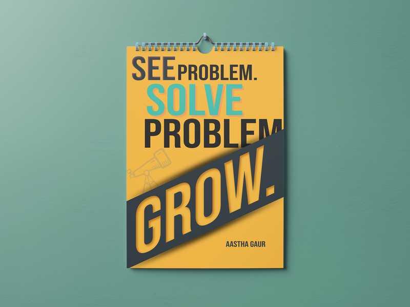 See Problem. Solve Problem. Grow.