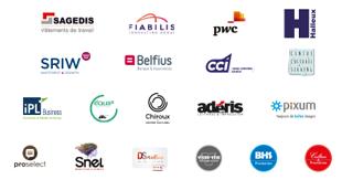 Pavé des sponsors de la Fondation Cité Miroir - partie 3