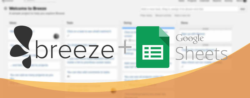 Using Google Sheets as a dashboard for Breeze time tracker
