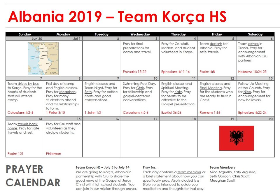 Team Korca (High School)