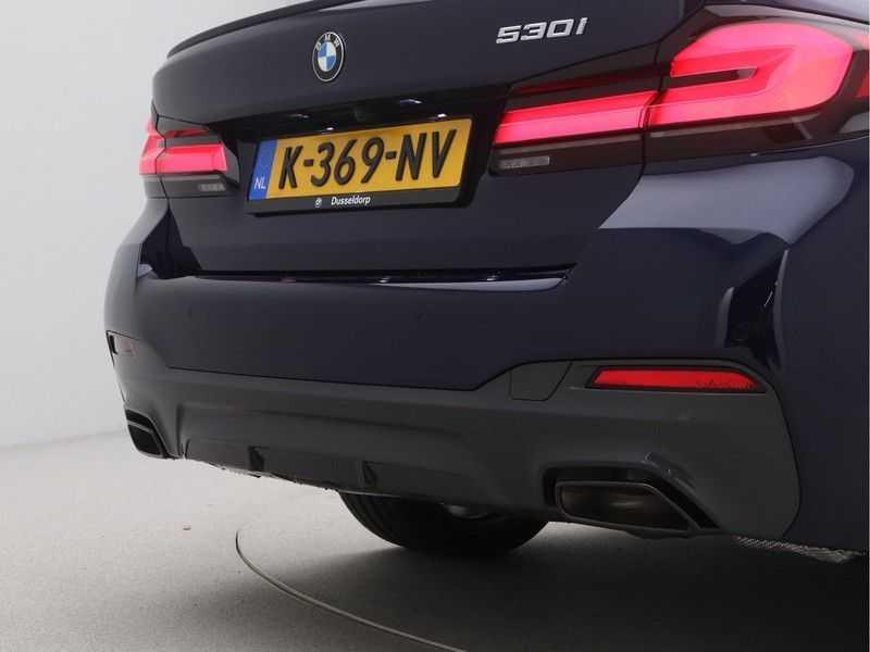 BMW 5 Serie Sedan 530i High Executive M-Sport Automaat afbeelding 20