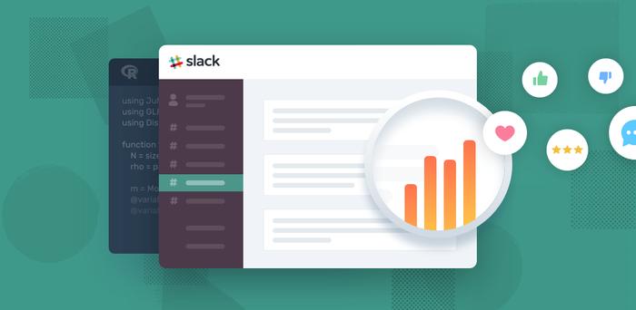 Sentiment analysis of Slack reviews using R