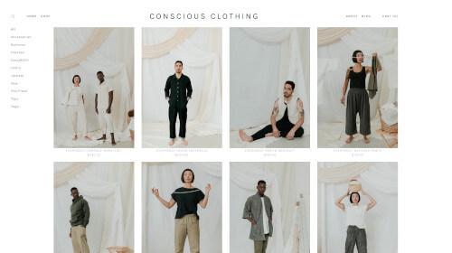 CONSCIOUS CLOTHING