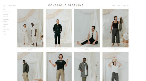 CONSCIOUS CLOTHING