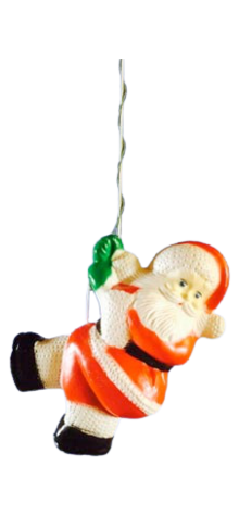 Santa On Rope photo