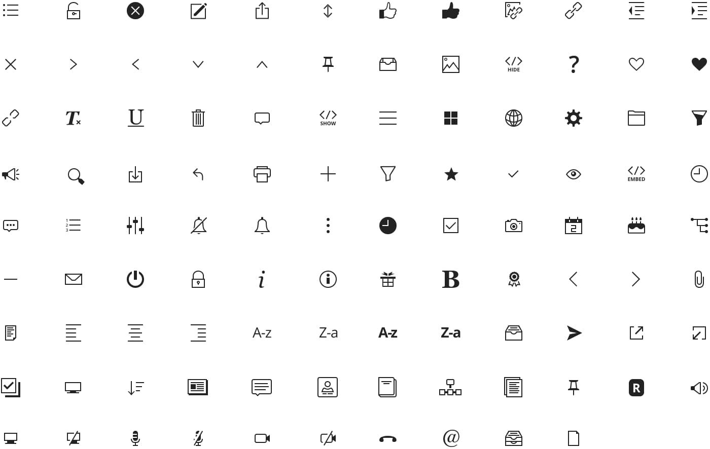 Jostle icons