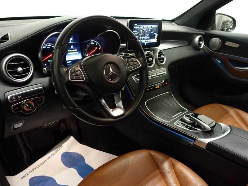 Mercedes-Benz GLC 250D 4MATIC 240PKpk 9G-Tronic AMG Edition- Panodak, Burmester, Leer afbeelding 22