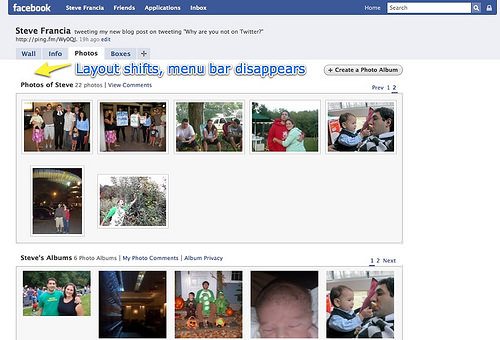Facebook 2 | Photos Tab