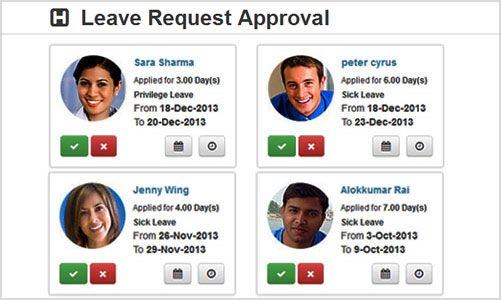 Leave Approval