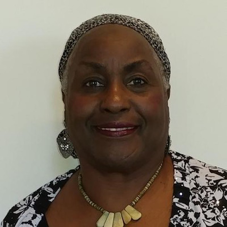 Professor Marva Lewis - smiling