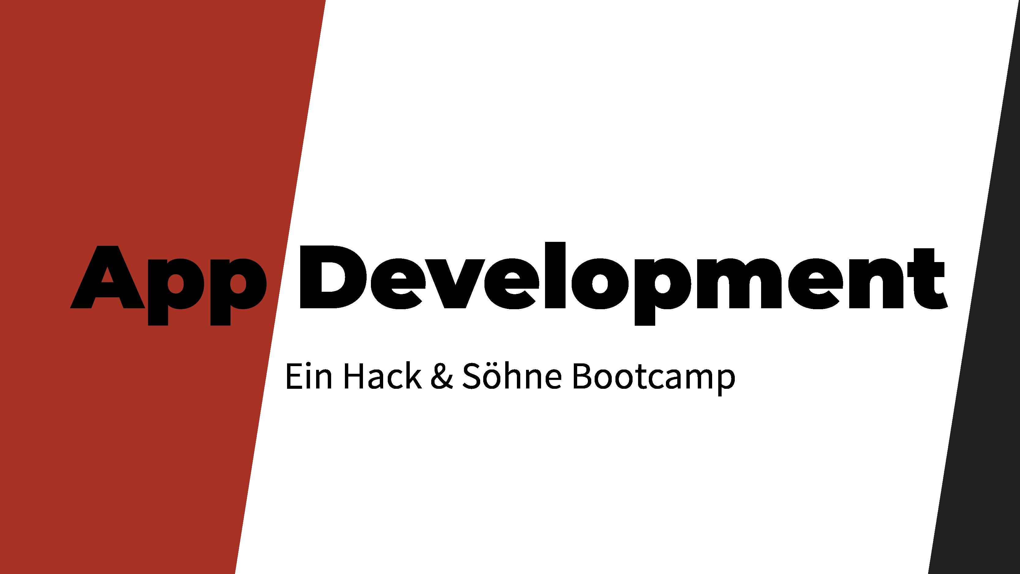 App Development Bootcamp
