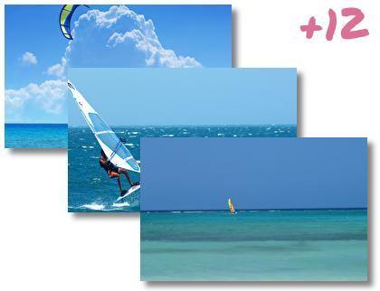 Windsurfing theme pack